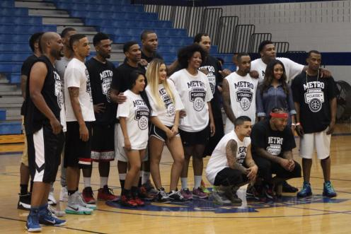Keith Langford Metro Classic Charity Basketball Game