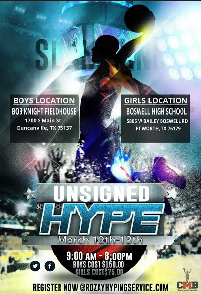 Unsigned Hype Event
